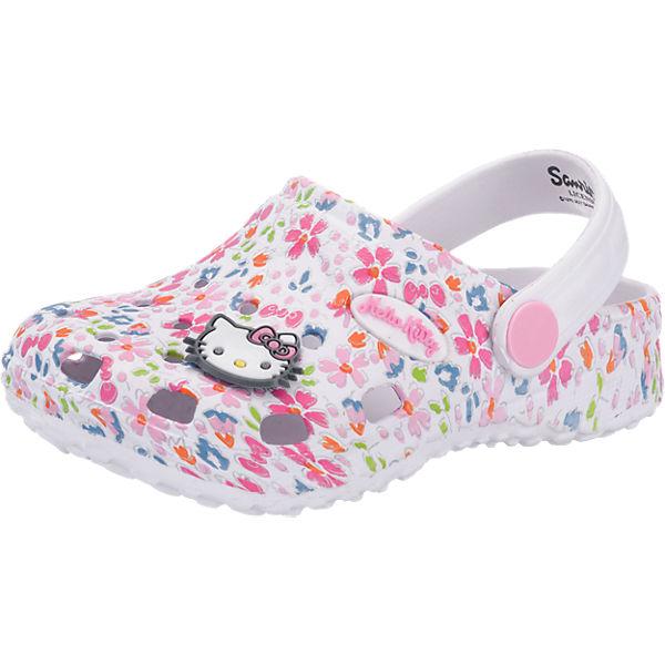Gutes Angebot Hello Kitty Hello Kitty Clogs für Mädchen weiß-kombi