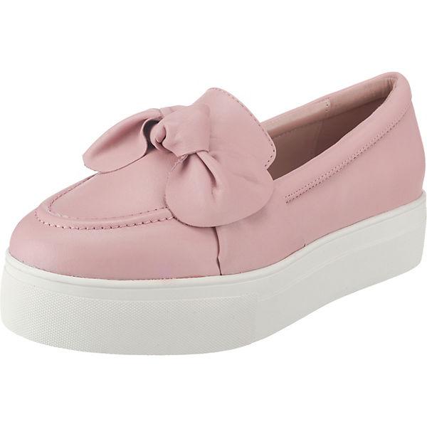 BUFFALO Sportliche Slipper rosa
