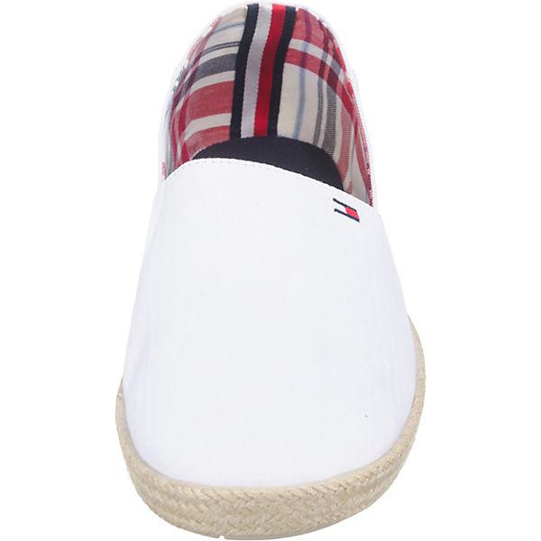 TOMMY HILFIGER, EASY SUMMER SLIP ON Sportliche Slipper, beliebte weiß  Gute Qualität beliebte Slipper, Schuhe 149411