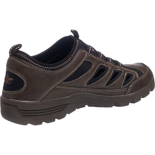 LICO LICO Toronto Freizeit Schuhe braun-kombi