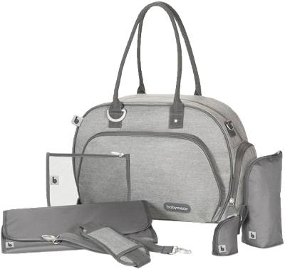 Babymoov, Wickeltasche Trendy Bag, smokey, grau