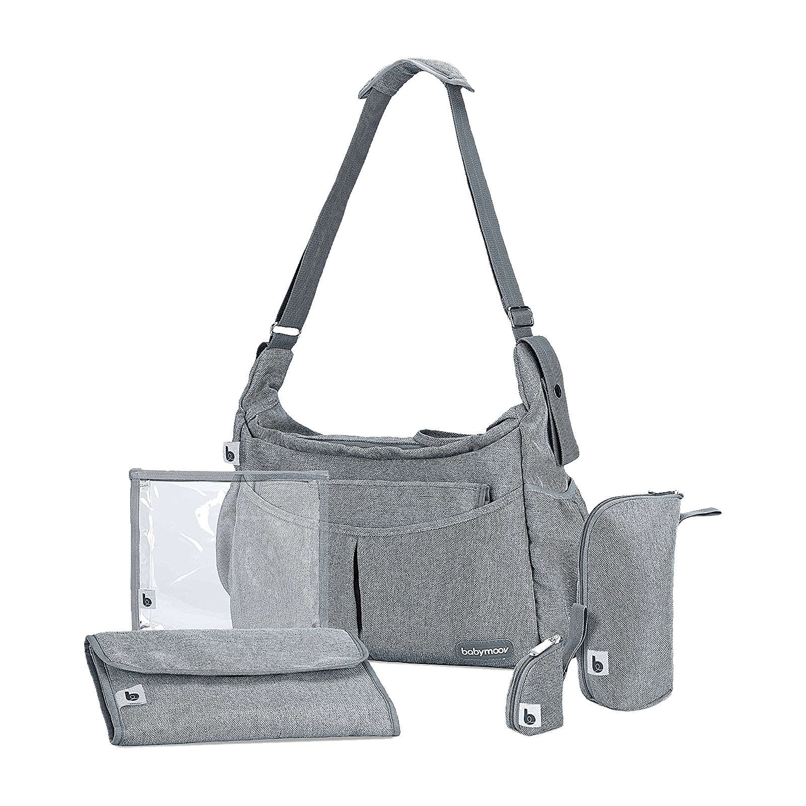 Babymoov Wickeltasche Urban Bag, smokey grau