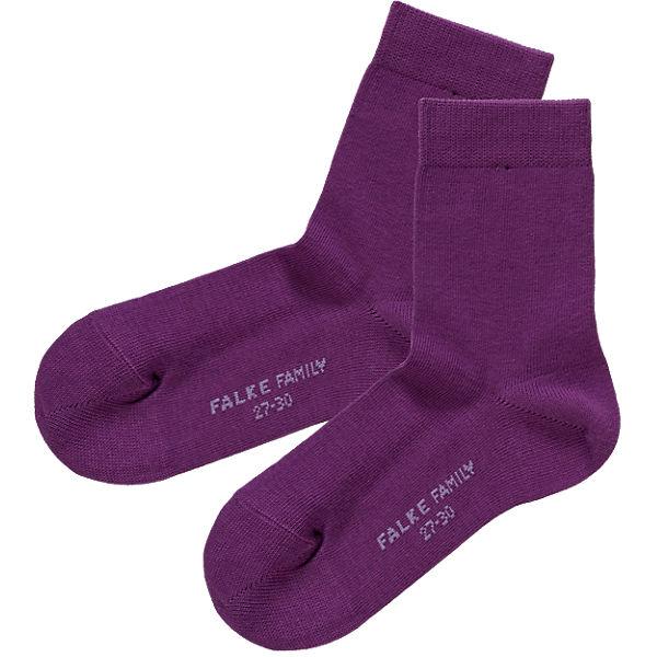 Shop für authentische Online-Verkauf Spielraum FALKE, Socken Family für Mädchen, lila