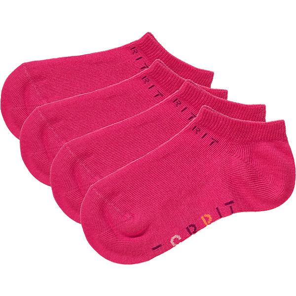ESPRIT Kinder Sneakersocken Doppelpack pink