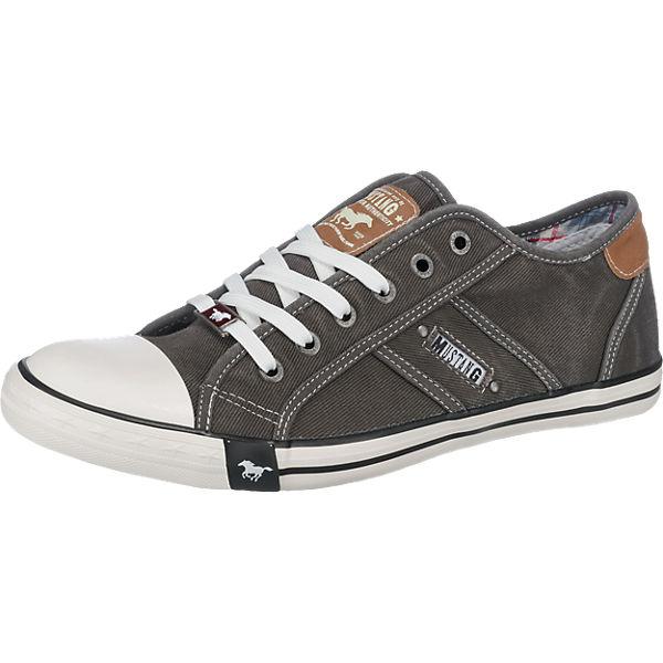Beste Wahl MUSTANG Sneakers Low grau