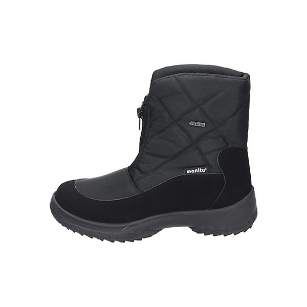 Polar Tex, Polar Tex Stiefel, schwarz  Gute Qualität beliebte Schuhe