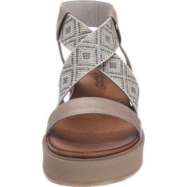 INUOVO INUOVO Sandaletten grau