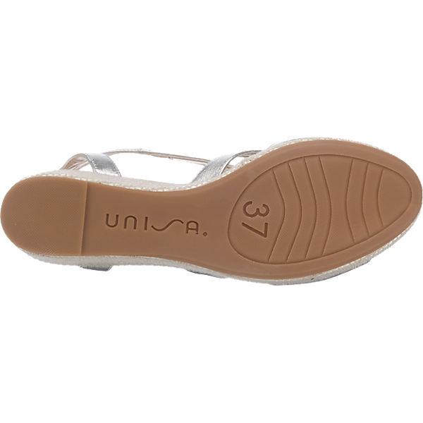 Unisa Unisa Kenya Sandaletten silber
