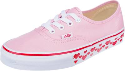 VANS 'Authentic' Sneaker rosa / weiß