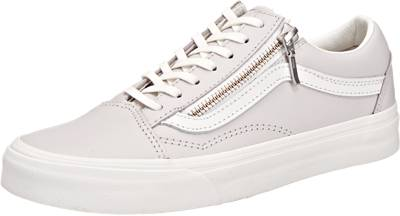 vans damen old skool grau