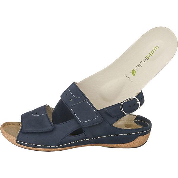 WALDLÄUFER Heliett Komfort-Sandalen blau  Gute Qualität beliebte Schuhe Schuhe Schuhe ad67f1