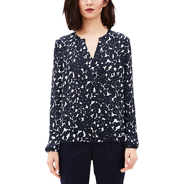 Oliver LABEL s Bluse BLACK blau PROOwdAx