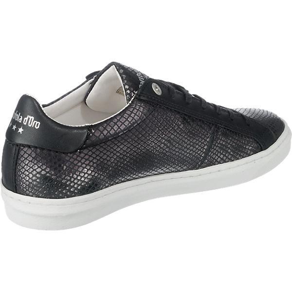 schwarz Low Pantofola Sneakers Pantofola Donna d'Oro d'Oro Paularo 1BpOaq