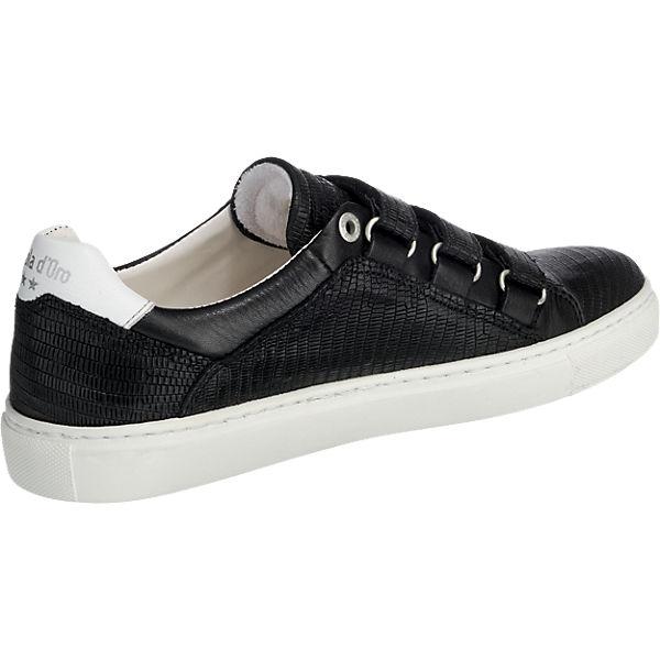 Pantofola d'Oro Pantofola d'Oro Biasca Donna Low Sneakers schwarz