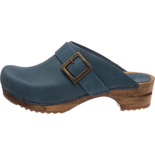 Sanita Sanita Urban Pantoletten blau