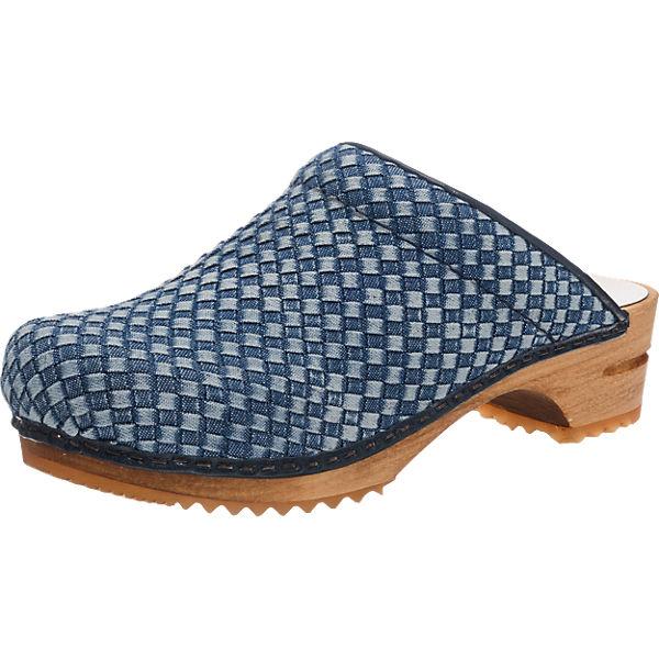 Sanita Sanita Debra Pantoletten blau-kombi