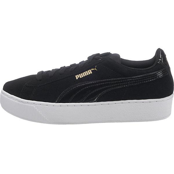PUMA, Sneakers Sneakers PUMA, Low, schwarz-kombi   3bc8b3