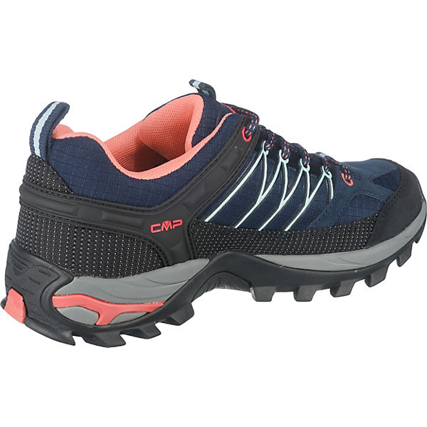 CMP RIGEL LOW WMN TREKKING SHOES WP Wanderschuhe blau