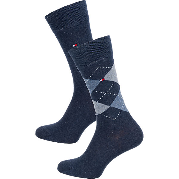 TOMMY HILFIGER TOMMY HILFIGER 2 Paar Socken Socken blau