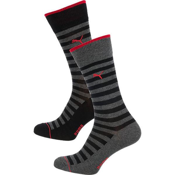 PUMA PUMA 2 Paar Socken Socken schwarz