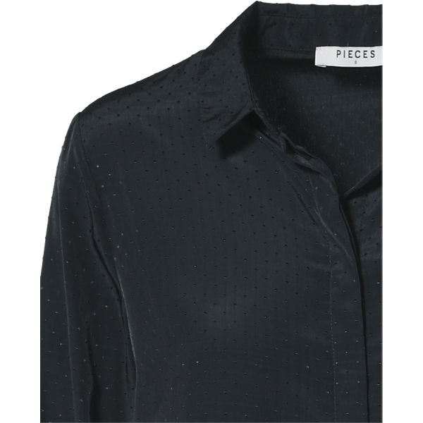 schwarz pieces pieces Bluse Bluse schwarz pY1fT6X