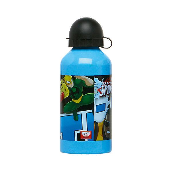 Trinkflasche Spiderman, 500 ml blau/rot Junge Sale Angebote Schwarzheide