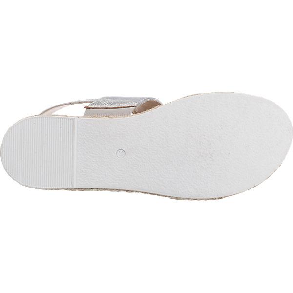 Peperosa Peperosa Sandaletten silber