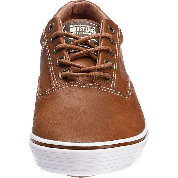 MUSTANG Sneakers Low braun