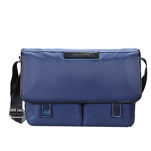 Piquadro Piquadro Celion Messenger 39 cm Laptopfach blau