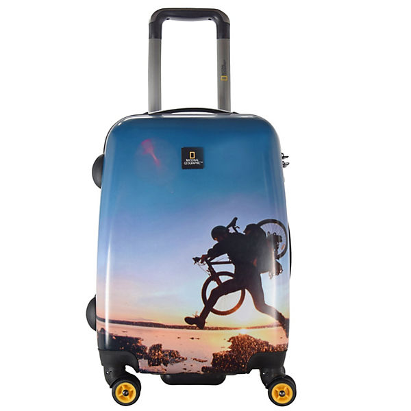 National Geographic National Geographic Adventure of Life X-Biker 4-Rollen Kabinentrolley 55 cm blau
