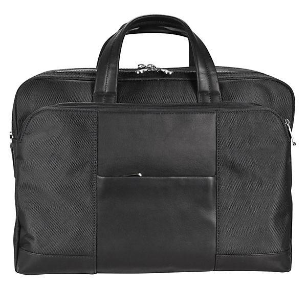 Dermata Dermata Laptoptasche 42 cm Laptopfach schwarz