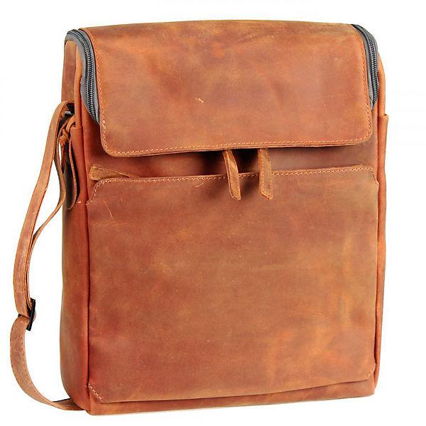 Harold's Harold's Campo Laptoptasche Leder 28 cm orange