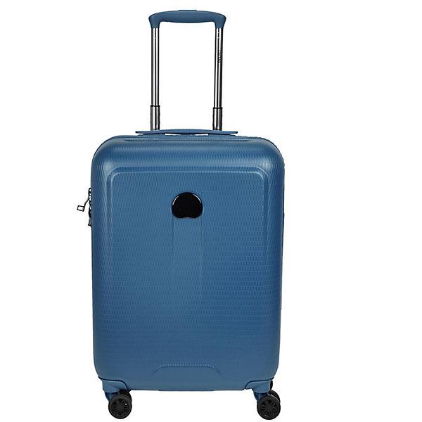 Delsey Delsey Helium Air 2 4-Rollen Kabinentrolley 55 cm blau