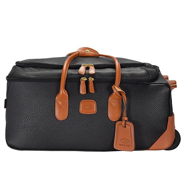 Bric's Bric's Magellano Rollenreisetasche 55 cm schwarz