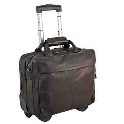 Harold's Country Business Trolley Leder 40 cm Laptopfach