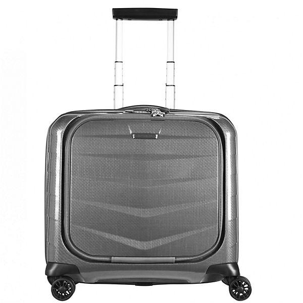 Samsonite Samsonite Lite-Biz 4-Rollen Business-Trolley Spinner 44 cm Laptopfach grau