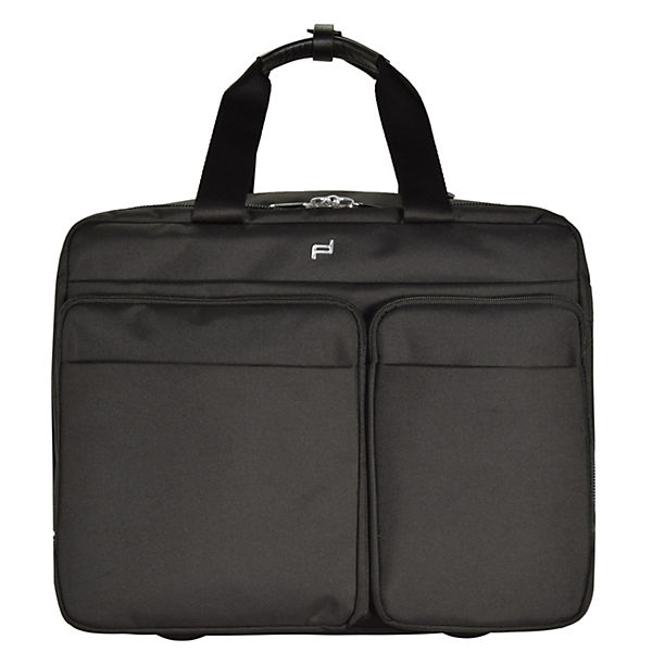 Porsche Design Porsche Design Roadster 3.0 Brief Bag M 2-Rollen Trolley 42 cm Laptopfach schwarz
