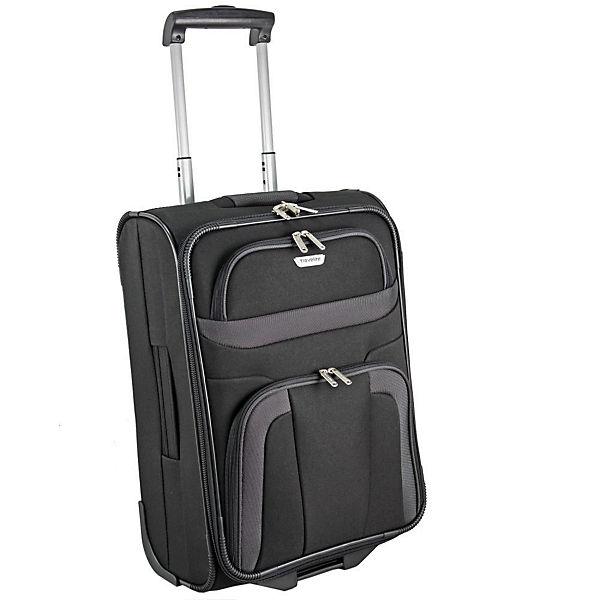 Travelite Travelite Orlando 2 Rollen Kabinentrolley 53 cm schwarz