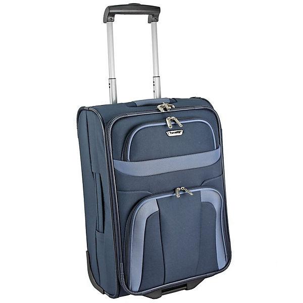 Travelite Travelite Orlando 2 Rollen Kabinentrolley 53 cm blau