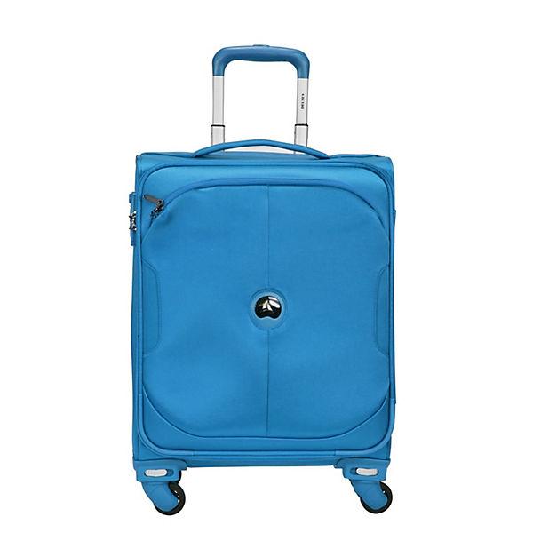 Delsey U-lite Classic 4-Rollen Kabinen-Trolley 55 cm blau Sale Angebote Drebkau