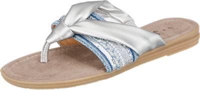 Jana Da-Pantolette Größe 38 Grau (Grey) i3Ajpk