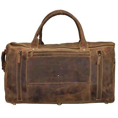 4ddd88fb000f9 Greenburry Vintage Reisetasche Leder 54 cm ...