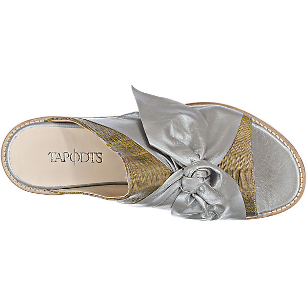 TAPODTS, Tapodts Gute Florina Pantoletten, gold  Gute Tapodts Qualität beliebte Schuhe 357c43