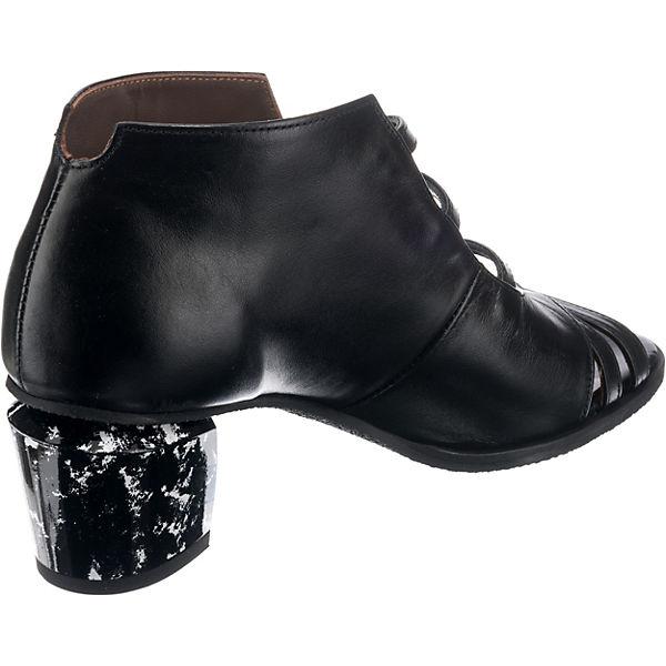 LISA schwarz Klassische kombi TUCCI RICCIA Sandaletten UrUH1