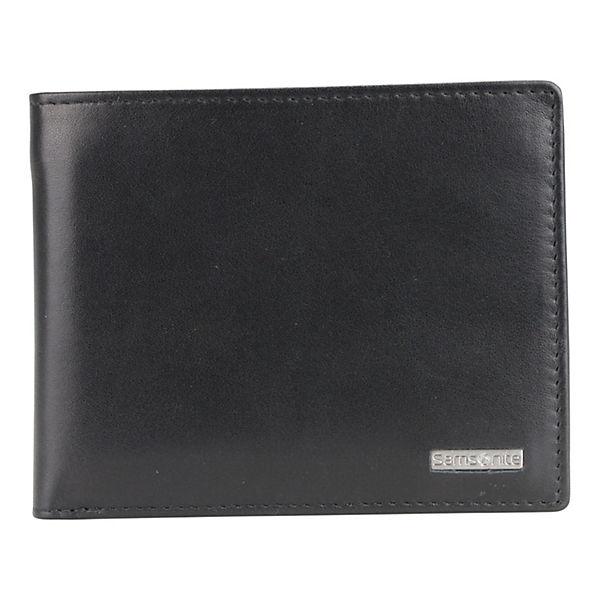 Samsonite Samsonite S-Derry Geldbörse Leder 12.2 cm schwarz