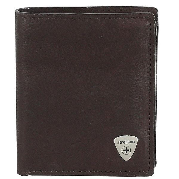 strellson Strellson Harrison Geldbörse Leder 9 cm braun
