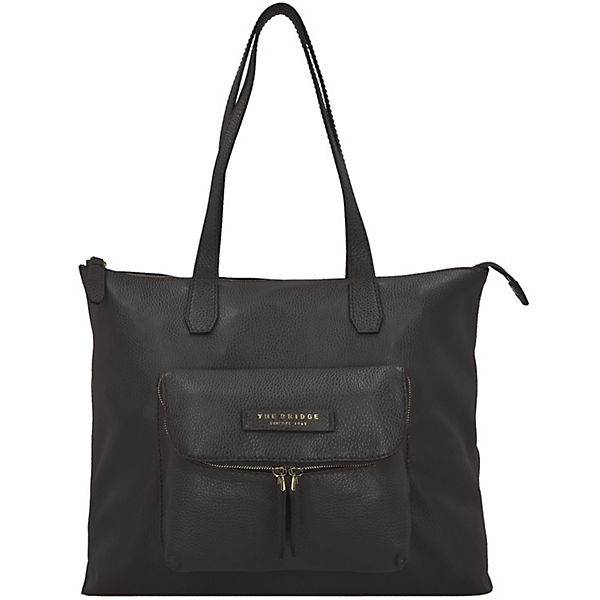 The Bridge Plume Soft Donna Shopper Tasche Leder 40 cm