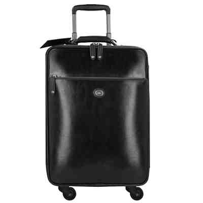 The Bridge Story Viaggio 4-Rollen Kabinen-Trolley Leder 55 cm