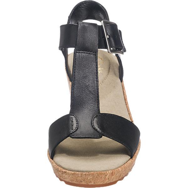Clarks Clarks Kamara Kiki Sandaletten schwarz