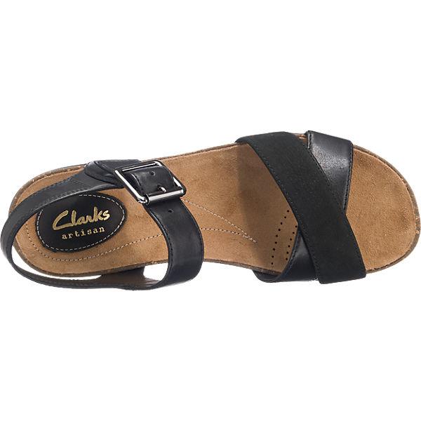 Clarks Clarks Autumn Air Sandaletten schwarz